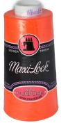 Maxi Lock All Purpose Thread Neon Orange 3000 YD Cone MLT-043