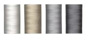 (4) 220 YD Spools Aurifil 50 wt Quilter's Super Set of Essential Piecing Colours