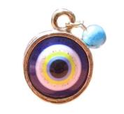 Evil Eye Ring 'Colourful Sun'