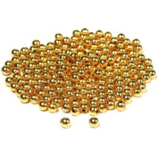 200 Gold Plated Ball Beads Round Stringing Beading 4mm