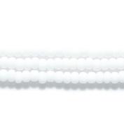 Preciosa Ornela 6SB112 Czech Seed Bead, Opaque White, Size 6/0