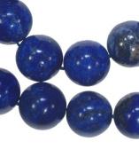 """Lapis Lazuli 14mm Round Beads Strand 15.5"""""""