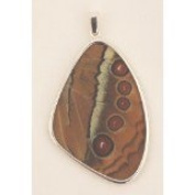 Jungle Queen Butterfly Wing XXL Pendant