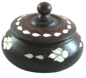 Sugar Holder with Mother of Pearl Inlaying