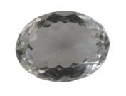 Rock Crystal Oval Quartz Facet Unset Gemstone Loose Genuine Natural 32mm