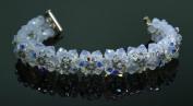 . Crystal Stones Beaded Bracelet