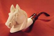 Meerschaum Pipe (Lületasi) - Horse