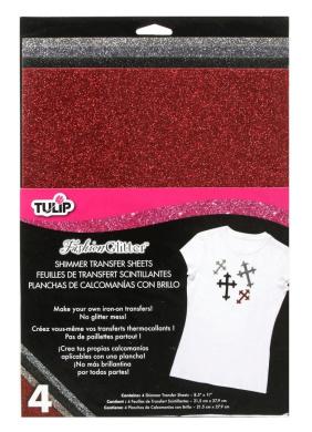 Tulip Twilight Shimmer Transfer Sheets