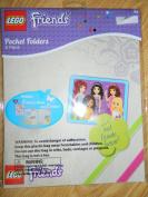 Lego Friends Pocket Folders 2 pack