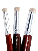 Silver Brush 1721S-2 Stencil Mini Short Handle Brush, Short Stencil, Size 2