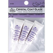 Quilled Creations Crystal Clear Coat Glaze for Paper Crafting, 3 Per Package