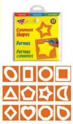 Trend Enterprises Common Shapes Stencils