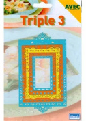 Ecstasy Crafts Triple 3 Templates - Rectangles