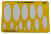Artistic Design Template - Ovals-Narrow