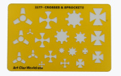 Artistic Design Template - Crosses & Sprockets