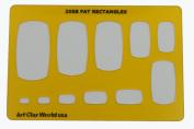 Artistic Design Template - Fat Rectangles