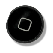 Black Housing Home Back Return Key Keys Button Buttons Cover For iPad 2 Repair Replace Replacement