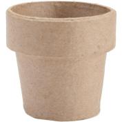 Darice - Paper Mache Clay Pot 15cm x 15cm