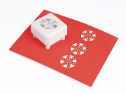 Martha Stewart Crafts Skylands Snowflake Punch All Over The Page Set