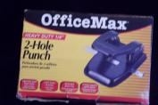 Office Max Heavy Duty 0.6cm 2-Hole Punch