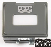 Uchida of America Clever Lever Border Craft Punch, Floral Lace, Cartridge