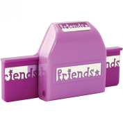 American Girl Crafts Friends Border Punch