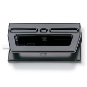 Officemate Adjustable 2-3 Hole Punch, 30 Sheet Capacity, Black
