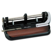 o Swingline o - 40-Sheet Heavy-Duty Lever Action 2- to 7-Hole Adjustable Punch,0.9cm Holes