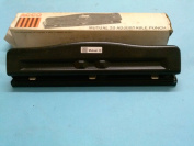 Acco Mutual 2O Paper Punch Adjustable 3 Hole Made in USA
