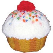MCG Textiles Huggables Sweet Treats Cupcake Latch Hook Kit