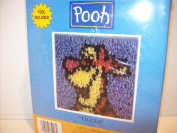 "Disney Pooh ""Tigger"" Latch Hook Kit 18cm x 18cm"