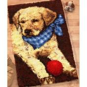 Craftways Lab Puppy Latch Hook Kit