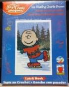 Ice Skating Charlie Brown Latch Hook Kit