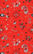 University of Georgia By Sykel - 100% Cotton 110cm Wide By the Yard