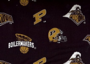 Purdue Univerisity- 100% Cotton 110cm Wide By the Yard