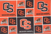 Oregon State University By Sykel -100% Cotton 110cm Wide By the Yard