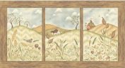 Red Rooster Jacqueline Paton 'Weeds N Tweeds' Cotton Fabric Panel
