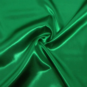 Bridal Satin fabric 21 - green - by the metre