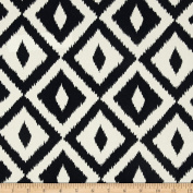 Terrasol Indoor/Outdoor Aztec Black Fabric