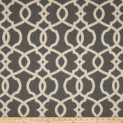Magnolia Home Fashions Emory Pewter Fabric