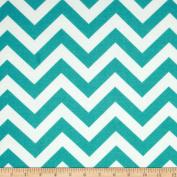 Premier Prints Indoor/Outdoor Zig Zag Ocean Fabric