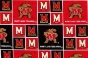 University of Maryland By Sykel - 100% Cotton 110cm Wide By the Yard.