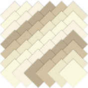 Moda BELLA SOLIDS NEUTRAL 13cm Charm Pack Fabric Quilting Squares 9900PP-21