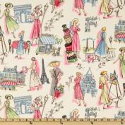 Michael Miller Springtime in Paris Multi Fabric