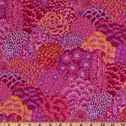 Kaffe Fassett Fall 2012 Collective Oriental Trees Magenta Fabric