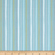 Special Delivery Simple Stripe Sky Fabric