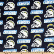 NFL Fleece San Diego Chargers Blue Fabric
