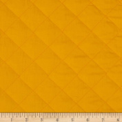 Double Sided Quilted Broadcloth Pencil Yellow Fabric