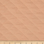 Double Sided Quilted Broadcloth Peach Fabric