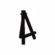 Aa Itty 13cm Easel Black